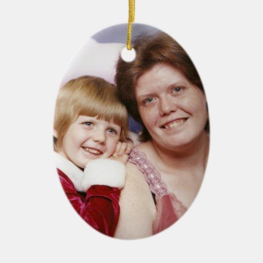 Kala & Brandy Mullins Ceramic Ornament