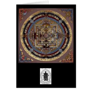 Kalachakra Mandala A Greeting Card