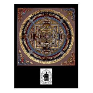 Kalachakra Mandala A Postcard