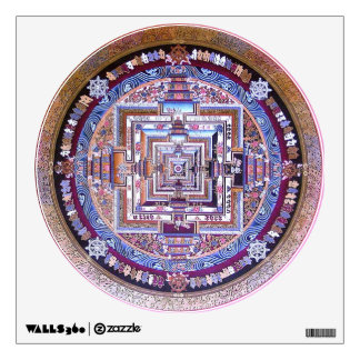 Kalachakra Mandala Wall Decal