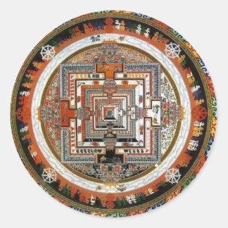 Kalachakra Sand Mandala Sticker