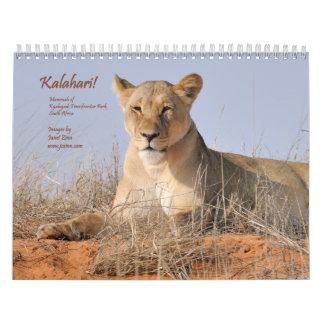 Kalahari! 2015 Calendar Mammals of Kgalagadi