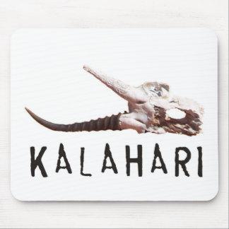 Kalahari desert in Africa: Dead antelope skull Mouse Pad