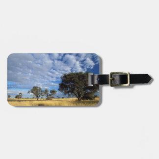 Kalahari Desert Scene, Kgalagadi Transfrontier Bag Tag