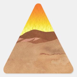 Kalahari Desert Triangle Sticker