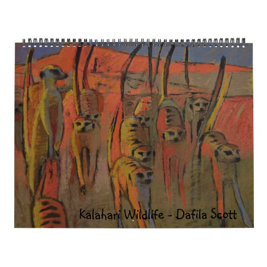 Kalahari Wildlife - Calendar