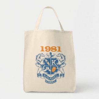 Kalaheo 1981 Reunion grocery tote