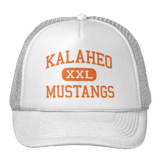 Kalaheo - mustangos - High School secundaria - Kai Gorra