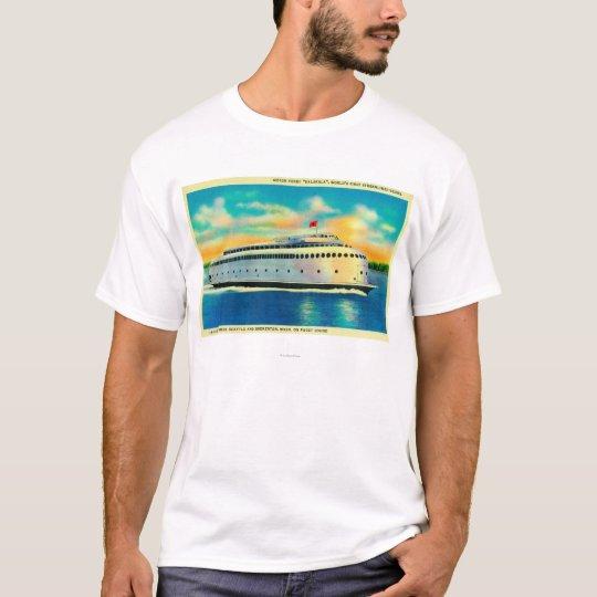 Kalakala Ferry, World's First Streamlined T-Shirt