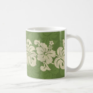 Kalakaua Hawaiian Hibiscus Border KL301 Coffee Mug