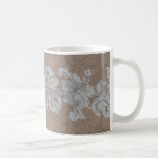 Kalakaua Hawaiian Hibiscus Border KL302 Coffee Mug