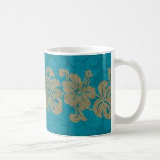 Kalakaua Hawaiian Hibiscus Border KL303 Coffee Mug