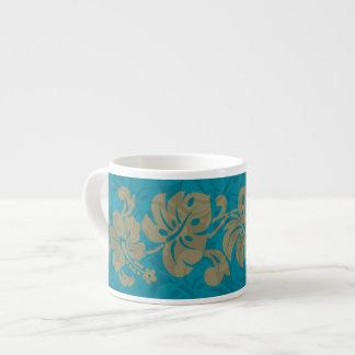 Kalakaua Hawaiian Hibiscus Border KL303 Espresso Cup