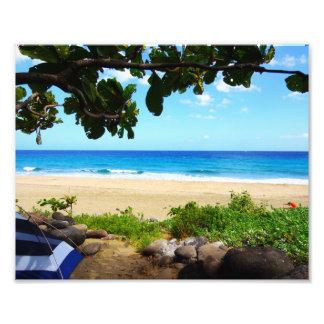 Kalalau Beach Camp Photo Print