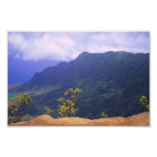 Kalalau Lookout, Kauai Photo Print