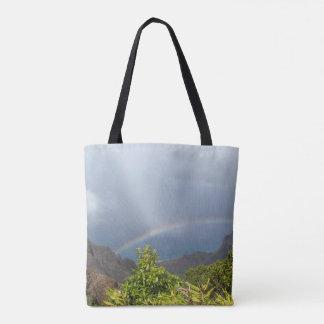 Kalalau Rainbow All-Over Tote