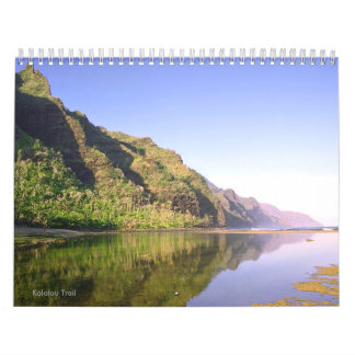 Kalalau Trail Hawaii Scenic Calendar