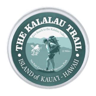 Kalalau Trail Silver Finish Lapel Pin