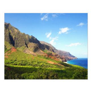 Kalalau Valley Kauai Hawaii Photo Print