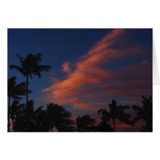 Kalama Park Sunset Card