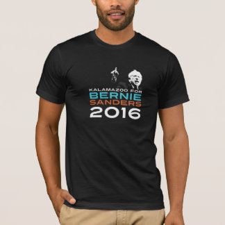 Kalamazoo For Bernie Sanders 2016 Shirt