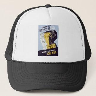 Kalamazoo Institute of Arts  - WPA Poster - Trucker Hat