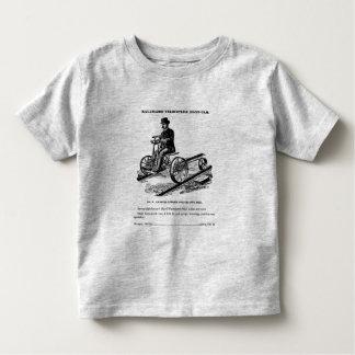 KALAMAZOO Velocipede Railroad Hand Car 1887 Toddler T-shirt