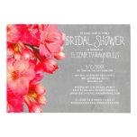 "Kalanchoe Bridal Shower Invitations 5"" X 7"" Invitation Card"