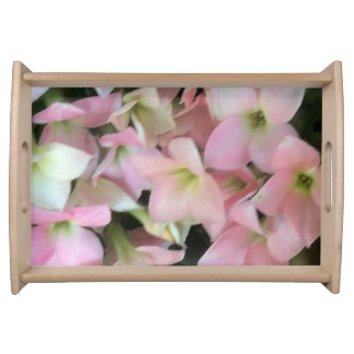 Kalanchoe Flowers Serving Tray