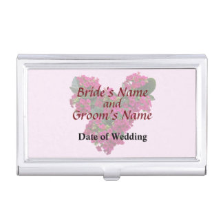 Kalanchoe Heart Wedding Products Case For Business Cards