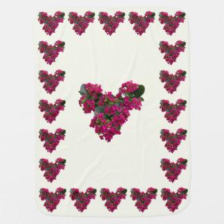 Kalanchoe Heart Stroller Blankets