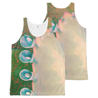 Kalanchoe Plant Abstract All-Over-Print Tank Top