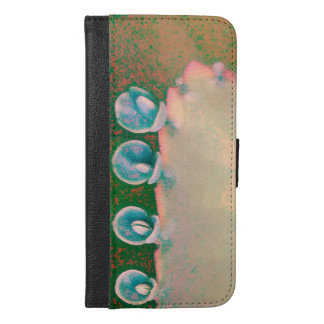 Kalanchoe Plant Abstract iPhone 6/6s Plus Wallet Case