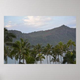 Kalapaki Bay in Kauai Poster