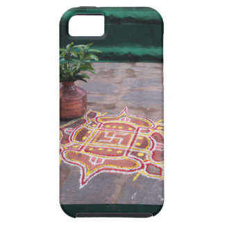 Kalas Vase swastika rangoli indian wedding Symbols iPhone SE/5/5s Case