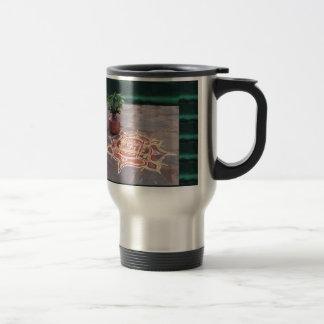 Kalas Vase swastika rangoli indian wedding Symbols Travel Mug