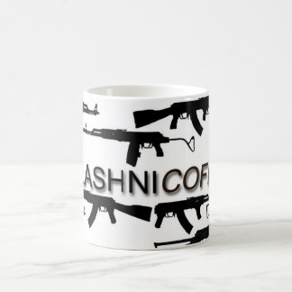 Kalashnicoffee Classic White Coffee Mug