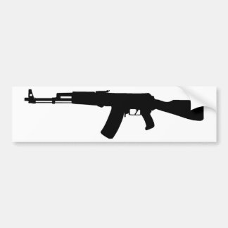 Kalashnikov del rifle de asalto de AK-47 Pegatina Para Auto