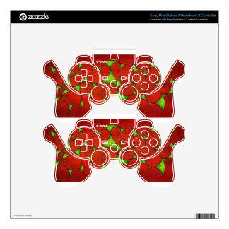 Kalatonius V1 - fancy grapevine PS3 Controller Decals