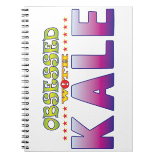 Kale 2 Obsessed Spiral Note Book