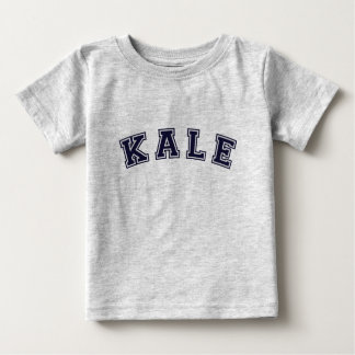 Kale: A Sporty Design for Veggie Lovers Baby T-Shirt