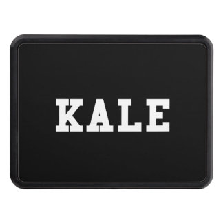 Kale College Font Funny Tow Hitch Cover