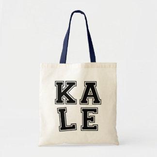 Kale funny tote bag