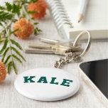 Kale Funny Vegan Style Keychain