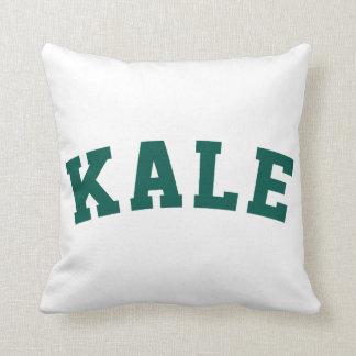 Kale Funny Vegan Style Throw Pillow