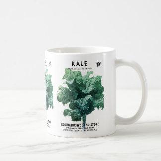 Kale Seed Packet Label Coffee Mug