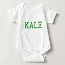 Kale University College Vegan Vegetarian Healthy Baby Bodysuit