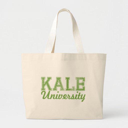Kale University Dorm Farmer's Market Tote Canvas Bag