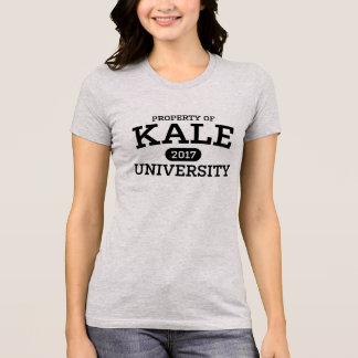 Kale University Vegan Vegetarian T-Shirt