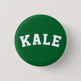 Kale Vegan Humor Button
